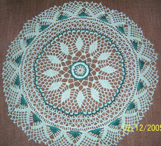 Free Crochet Doily Patterns Instructions : bead-crochet-doilies Images - Frompo - 1